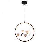 billiga Belysning-QIHengZhaoMing Cirkelrunda Hängande lampor Glödande - Kristall, 110-120V / 220-240V Glödlampa inkluderad / 15-20㎡ / Integrerad LED