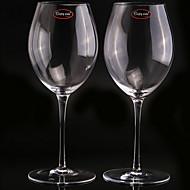 billiga Bartillbehör-Glas Glas, Vin Tillbehör Hög kvalitet Kreativ för Barware Enkel / Bekväm 2pcs