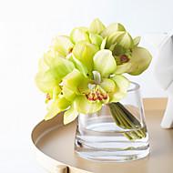billige Kunstig Blomst-Kunstige blomster 1 Afdeling Klassisk minimalistisk stil / Brudebuketter Orkideer Bordblomst
