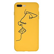 Case Kompatibilitás Apple iPhone X / iPhone 8 Plus Minta Fekete tok Rajzfilm Puha TPU mert iPhone XS / iPhone XR / iPhone XS Max