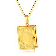 Dame Tykk kæde Halskædevedhæng - Medaljon Vintage, Etnisk Guld, Sølv 50 cm Halskæder 1pc Til Fest, Gave