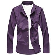 mænds skjorte - solid farvet skjorte krave