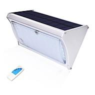 billige Utendørs Lampeskjermer-1pc 8 W Led Street Light / Solar Wall Light Solar / Vanntett / Lysstyring Hvit 3.2 V Utendørsbelysning / Courtyard / Have