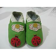 baratos Sapatos de Menino-Para Meninos Sapatos Pele Outono & inverno Conforto Mocassins e Slip-Ons para Verde / Rosa claro