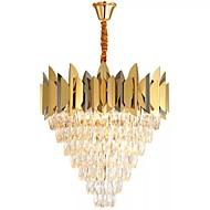 billiga Belysning-QIHengZhaoMing 8-Light Kristall Ljuskronor Glödande 110-120V / 220-240V, Varmt vit, Glödlampa inkluderad / 15-20㎡