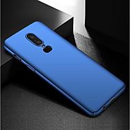 billiga Mobil cases & Skärmskydd-fodral Till OnePlus OnePlus 6 / OnePlus 5T Ultratunt / Frostat Skal Enfärgad Hårt PC för OnePlus 6 / One Plus 5 / OnePlus 5T