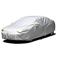 Full Coverage Car Covers Oxford Cloth / Aluminum Film Reflective / Warning  Bar For Mercedes Benz GLA260 All Years For All Seasons