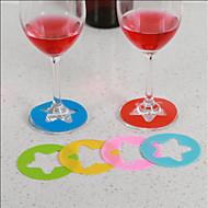 billiga Kök och matlagning-Bar set / Glas / Bar- och vinverktyg Plast, Vin Tillbehör Hög kvalitet Kreativ for Barware Bekväm 6pcs