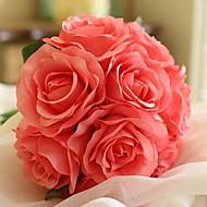 billige Kunstige blomster-Kunstige blomster 11 Gren Klassisk Traditionel / Klassisk / Bryllup Hortensiaer Bordblomst