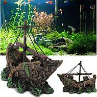billiga Tillbehör till fiskar och akvarium-Akvariedekorationer / Vattentät Bakgrunder / Ornament Bärbar / Vattentät / Tvättbar Resin