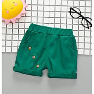 赤ちゃん 男の子 ストリートファッション ソリッド コットン パンツ ベージュ / 幼児
