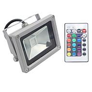 baratos Focos-1 pc rgb 10 w led projector decorativo / à prova d 'água ip65 ac85-265v iluminação exterior / pátio / jardim