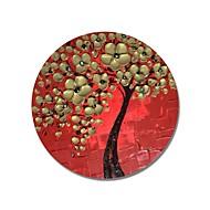 billiga Blom-/växtmålningar-Hang målad oljemålning HANDMÅLAD - Blommig / Botanisk Samtida / Moderna Duk