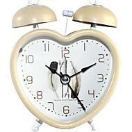 お買い得  目覚まし時計-目覚まし時計 ハンズ メタル クォーツ 1 pcs