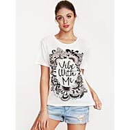 Dame - Ternet Trykt mønster Gade T-shirt