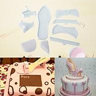 billige Bakeredskap-Bakeware verktøy Aluminium Ny ankomst / 3D / GDS Til Kake / Party / Bursdag Cake Moulds 7pcs