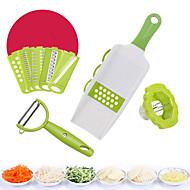 baratos Utensílios de Cozinha-Utensílios de cozinha Aço Inoxidável + Plástico ABS Gadget de Cozinha Criativa Peeler & Grater Uso Diário / Para utensílios de cozinha 1pç