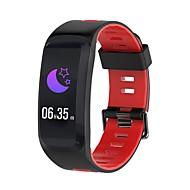 tanie Inteligentne zegarki-Inteligentne Bransoletka NO.1 F4 na iOS / Android Wodoodporne / Pomiar ciśnienia krwi / Spalone kalorie / Długi czas czuwania / Ekran dotykowy Krokomierz / Powiadamianie o połączeniu telefonicznym