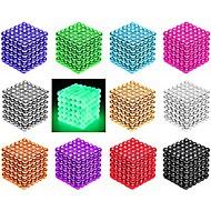 baratos -216/512 pcs 3mm / 5mm Brinquedos Magnéticos Bolas Magnéticas Blocos de Construir Imãs Magnéticos Raros Super Fortes Ímã de Neodímio O stress e ansiedade alívio Brinquedos de escritório Faça Você Mesmo