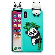 billiga Mobil cases & Skärmskydd-fodral Till Apple iPhone X / iPhone 8 Plus GDS (Gör det själv) Skal Panda Mjukt TPU för iPhone X / iPhone 8 Plus / iPhone 8