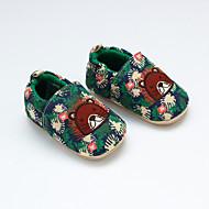 baratos Sapatos de Menino-Para Meninos / Para Meninas Sapatos Algodão Primavera & Outono Primeiros Passos Mocassins e Slip-Ons para Bebê Verde
