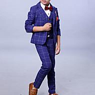 Børn Drenge Ensfarvet Langærmet Tøjsæt