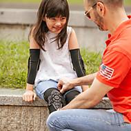 Χαμηλού Κόστους Προστατευτικός Εξοπλισμός-Bandă Genunchi για Ποδηλασία Δρόμου / Ποδηλασία Αναψυχής / Ποδηλασία / Ποδήλατο Αγορίστικα / Κοριτσίστικα Προστασία Ποδήλατο Σιλικόνη / Νάιλον 1 Pair Μαύρο