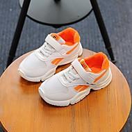 baratos Sapatos de Menina-Para Meninas Sapatos Com Transparência / Couro Ecológico Primavera Verão Conforto Tênis Caminhada para Infantil Preto / Laranja / Verde