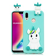tok Για Huawei P20 Pro / P20 lite Φτιάξτο Μόνος Σου Πίσω Κάλυμμα Μονόκερος Μαλακή TPU για Huawei P20 / Huawei P20 Pro / Huawei P20 lite / P10 Lite / P10