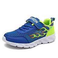 baratos Sapatos de Menino-Para Meninos Sapatos Com Transparência Verão / Primavera Verão Conforto Tênis Corrida / Caminhada para Verde / Azul / Azul Real