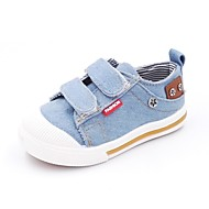 baratos Sapatos de Menino-Para Meninos Sapatos Jeans / Sintéticos Primavera & Outono / Verão Conforto Tênis Velcro para Infantil Azul / Azul Claro