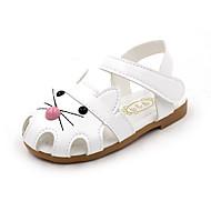 baratos Sapatos de Menino-Para Meninos Sapatos Couro Ecológico Verão Conforto Sandálias Caminhada para Bébé Branco / Fúcsia / Rosa claro