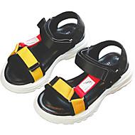 baratos Sapatos de Menino-Para Meninos / Para Meninas Sapatos Náilon Primavera Verão Conforto Sandálias Velcro para Bébé Preto