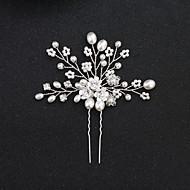 Legering Hårspænde med Blomst 1pc Bryllup / Speciel Lejlighed Medaljon