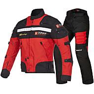 DUHAN 020 Motorcykel tøj Jakkebukser SetforHerre Oxfordtøj Forår / Sommer Vand resistent / Beskyttelse / Bedste kvalitet