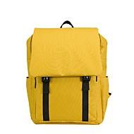 tanie Plecaki-Dla obu płci Torby Tkanina Oxford plecak Zamek Żółty