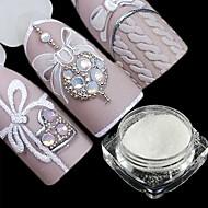 2pcs Suggerimenti per le unghie artificiali Glitter Disegni alla moda / Luminoso manicure Manicure pedicure Glitters / Retrò Ricevimento di matrimonio / Da tutti i giorni