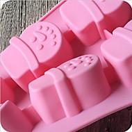 billige Bakeredskap-Bakeware verktøy Silikon Kreativ Kjøkken Gadget Brød / For Småkake Cake Moulds 1pc