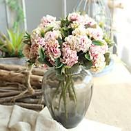 billige Bestselgere-Kunstige blomster 1 Gren Klassisk Bryllupsblomster / Pastorale Stilen Kystantemum Bordblomst