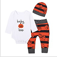 Baby Drenge Basale Sport Ensfarvet Langærmet Tøjsæt