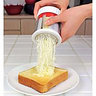 baratos Utensílios de Cozinha-Utensílios de cozinha Plástico Ferramentas / Gadget de Cozinha Criativa Peeler & Grater Uso Diário / para Cheese 1pç