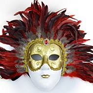 baratos -Decorações de férias Decorações de Halloween Máscaras de Dia das Bruxas / Halloween Entertaining Decorativa / Legal Vermelho 1pç