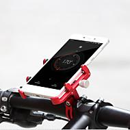 billige Sykkeltilbehør-Telefonstativ til sykkel Bærbar, Enkel å installere, Anti-Sjokk Sykling / Sykkel Aluminiumslegering Blå / Rosa / Svart / Rød
