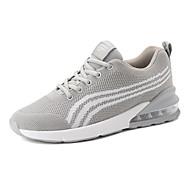 baratos Sapatos Masculinos-Homens Sapatos Confortáveis Com Transparência Outono Tênis Caminhada Preto / Cinzento / Vermelho