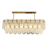 billige Takbelysning og vifter-QIHengZhaoMing Lysekroner Omgivelseslys galvanisert Metall Glass 110-120V / 220-240V Varm Hvit Pære Inkludert
