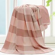 tanie Ręcznik kąpielowy-Najwyższa jakość Ręcznik kąpielowy, Plaid / Sprawdź 100% bawełna Łazienkowe 1 pcs