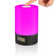 billige Skrivebordslamper-JIAWEN 1pc Vekkerklokke Smart nattlys Fargerik Usb Smart / Mulighet for demping / Fargegradering 5 V