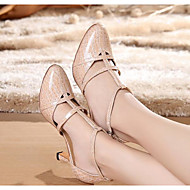 billige Moderne sko-Dame Moderne sko PU Høye hæler Slim High Heel Dansesko Svart / Blå / Naken