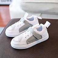 baratos Sapatos de Menino-Para Meninos Sapatos Couro Ecológico Verão Conforto Tênis Cadarço para Infantil / Adolescente Cinzento / Verde / Rosa claro