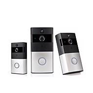 billige Dørtelefonssystem med video-actop® leiligheter smart video dørklokke med chime hd wifi visuell video dørklokke